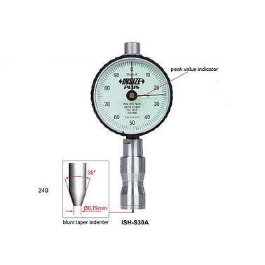 Đồng hồ đo độ cứng Insize ISH-S30A (đo kiểu A, 0-100HA)
