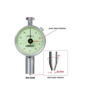 Đồng hồ đo độ cứng Insize ISH-SAM (đo kiểu A, 10-90HA)