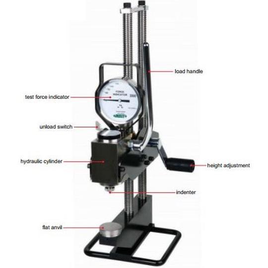 Máy đo độ cứng thủy lực kiểu Brinell INSIZE ISHB-H131