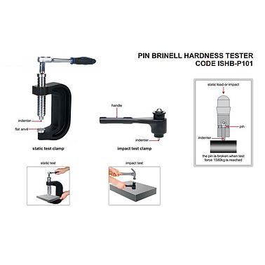 Đinh kiểm tra độ cứng kiểu BRINELL INSIZE ISHB-P101