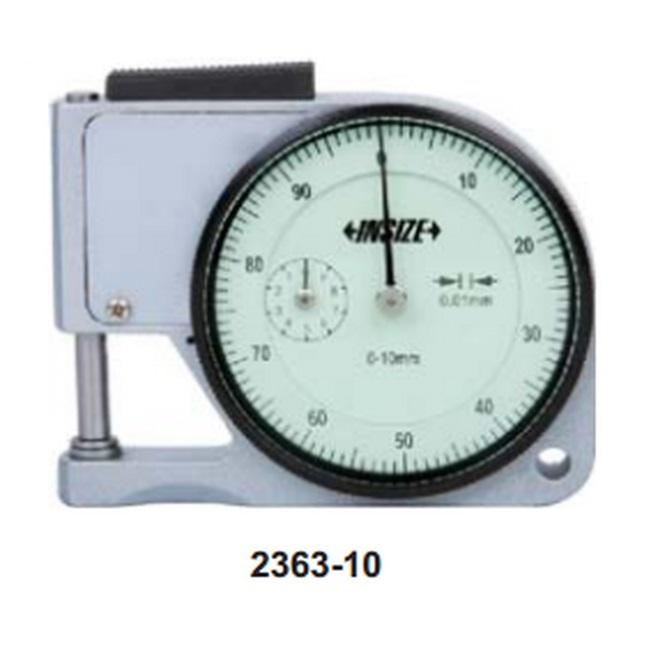 Đồng hồ đo độ dày vật liệu Insize 2363-10 (0-10/0.01mm)