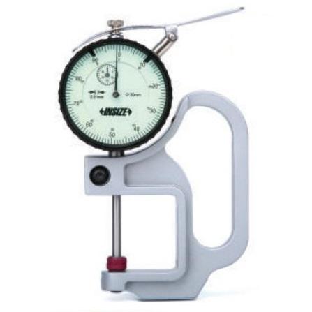 Đồng hồ đo độ dày vật liệu kiểu cơ INSIZE, 2366-30, 0-30mm/ 0.01mm