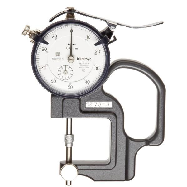 Đồng hồ đo độ dày vật liệu kiểu cơ Mitutoyo 7313