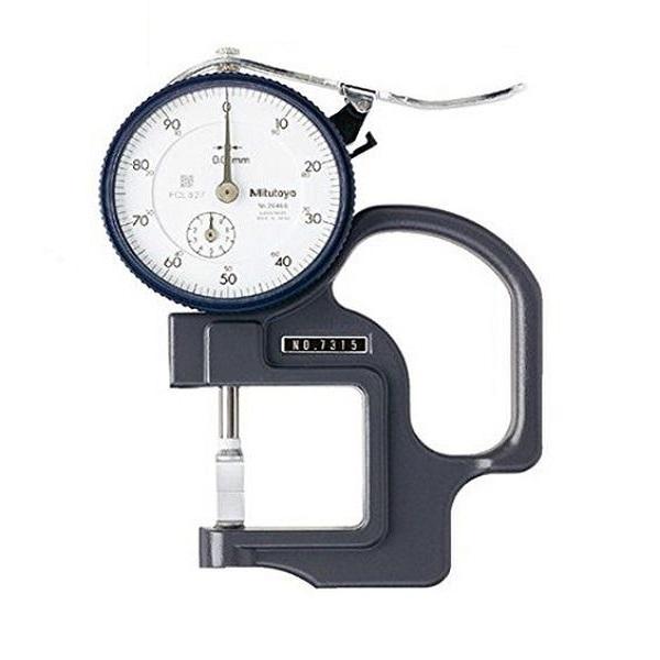 Đồng hồ đo độ dày vật liệu kiểu cơ Mitutoyo 7315