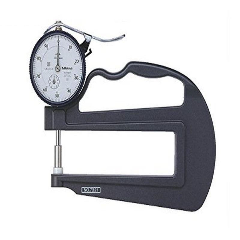 Đồng hồ đo độ dày vật liệu kiểu cơ Mitutoyo 7321 (0-10mm/ 0.01mm)