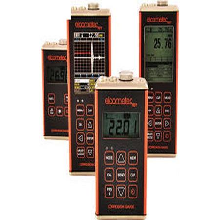 Máy đo độ dày ăn mòn Elcometer CG100ABDL (0.01~508mm, A-scan, B-scan, đo qua lớp sơn, ghi dữ liệu