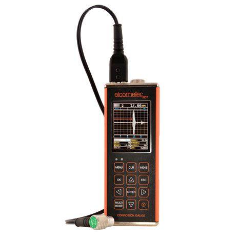 Máy đo độ dày ăn mòn Elcometer CG100BDL (0.01~508mm, B-scan, đo qua lớp sơnm, ghi dữ liệu)