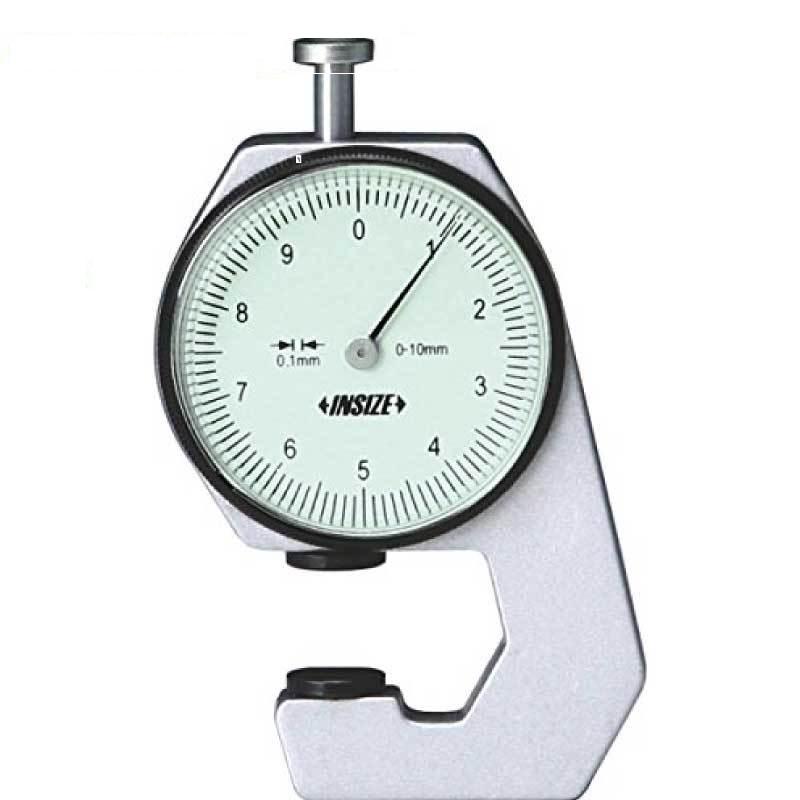 Đồng hồ đo độ dày vật liệu Insize 2361-10 (0-10/0.1mm)