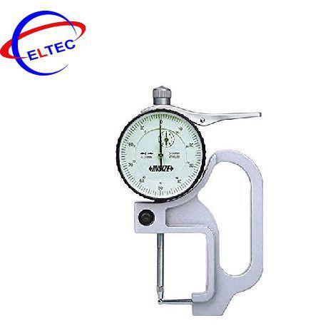 Đồng hồ đo độ dày của ống kiểu cơ INSIZE, 2367-10A, 0-10mm / 0.01mm