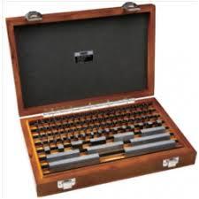 Bộ căn mẫu 47 chi tiết Insize 4100-147A (1.005~100mm, grade 1)