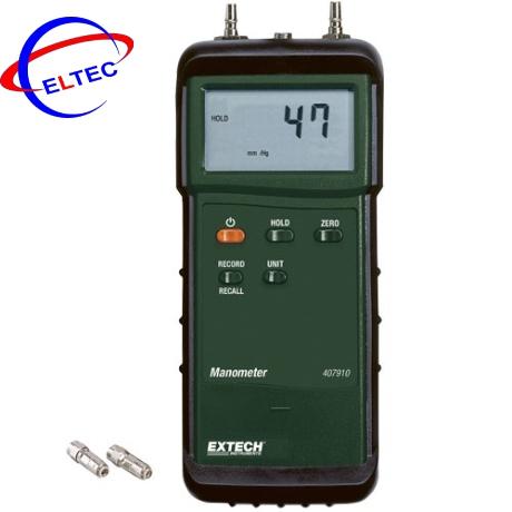 Máy đo áp suất chênh lênh Extech 407910 29Psi (2000mbar)