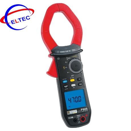 Ampe kìm đo sóng hài, công suất công suất AC/DC Chauvin Arnoux F605 (P01120965) (True RMS 3,000 A)