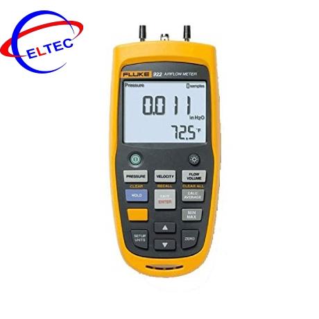 Máy đo áp suất, tốc độ, lưu lượng dòng khí Fluke 922 (Áp suất, vận tốc, lưu lượng)