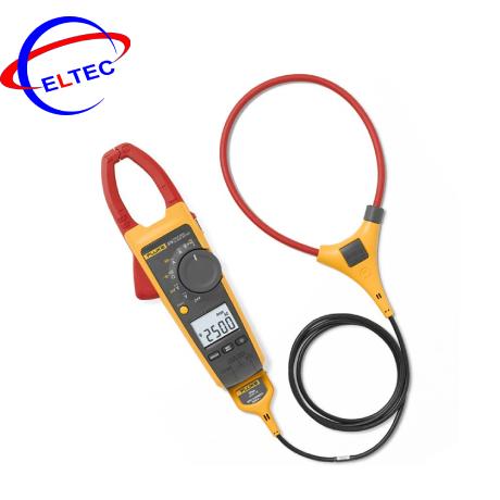 Ampe kìm Fluke 376 (True RMS, 1000A, kèm dây đo mềm 2500A, AC/DC)