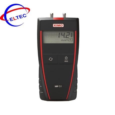 Máy đo áp suất chênh lệch KIMO MP51 (-1000 …..+1000 mmH2O)