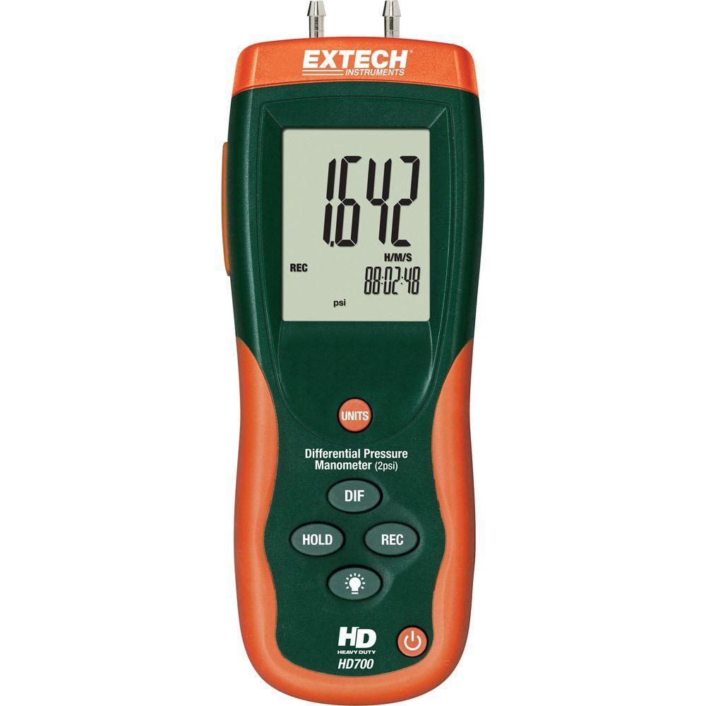 Máy đo áp suất chênh lệch Extech HD700 (±2psi)
