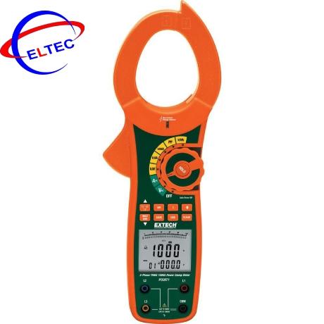 Ampe kìm đo công suất AC Extech PQ2071 (1000A, True RMS)
