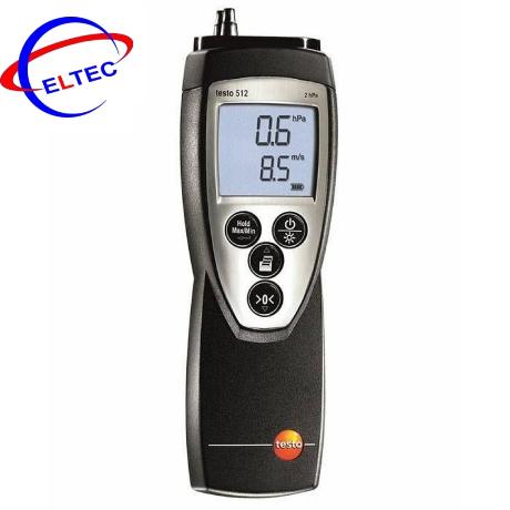 Máy đo áp suất và vận tốc dòng khí testo 512(0560 5126) (0 ~ +2 hPa)