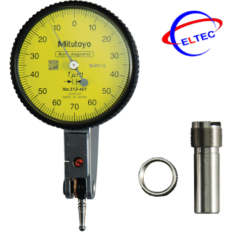 Đồng hồ so chân gập Mitutoyo 513-401-10E (0-0.14mm/0.001mm)