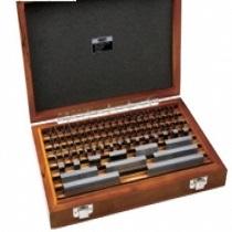 Bộ căn mẫu 10 chi tiết Insize 4107-101 (thép,kiểm tra thước panme, grade 0,optical parallel)