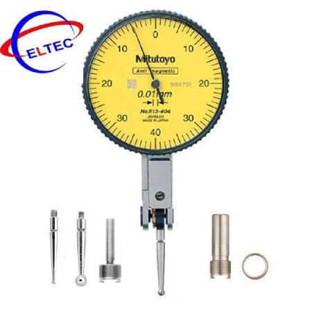 Đồng hồ so chân gập 0.8mm 0.01mm Plus Set 513-404-10A Mitutoyo