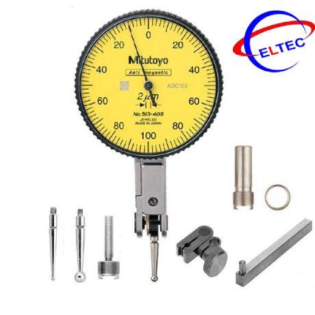 Đồng hồ so chân gập Mitutoyo 513-405-10T (0-0.2mm/0.002mm)