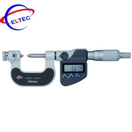 Panme điện tử đầu nhọn Mitutoyo 324-251-30 ((15°) 0-25mm x 0.001)