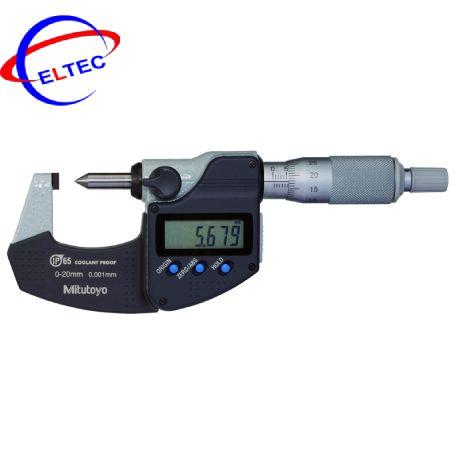 Panme điện tử đầu nhọn IP65 Mitutoyo 342-271-30 (0-20mm/ 0.001mm)