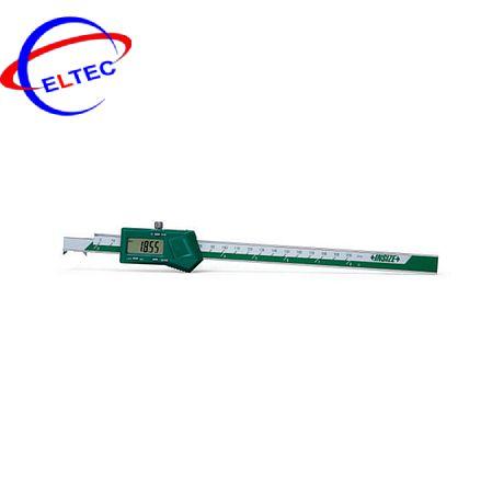 Thước cặp điện tử đo rãnh trong INSIZE, 1122-200A, 3-200mm/0.12-8″