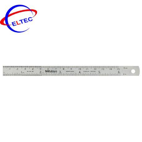 Thước lá Mitutoyo 182-171 (0-600 bề rộng 30mm)