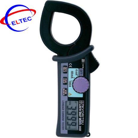 Ampe kìm đo dòng dò Kyoritsu 2431 (20/200mA/200A)