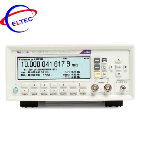 Máy đếm, phân tích tần Tektronix MCA3040 (40 GHz, 3CH)