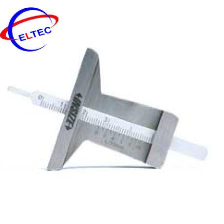 Thước đo độ sâu cơ khí (loại MINI) INSIZE, 1244-30, 0-30mm/ 0.1mm