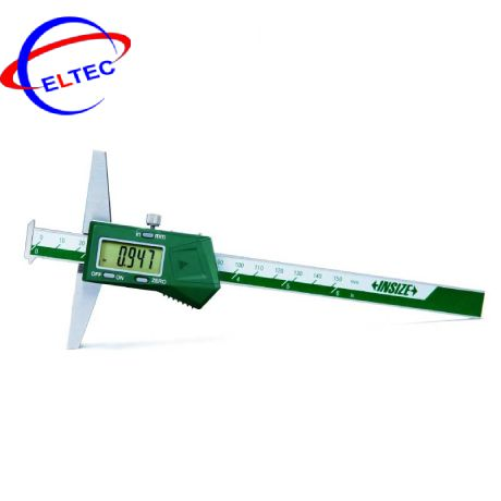Thước đo độ sâu điện tử (có 2 móc câu) INSIZE, 1144-300A, 0-300mm/0-12