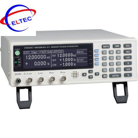 Máy đo điện trở Hioki HiTESTER RM3543(10mΩ~1000Ω)