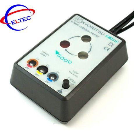 Đồng hồ chỉ thị pha Kyoritsu 8031F (600VAC/50-60Hz)