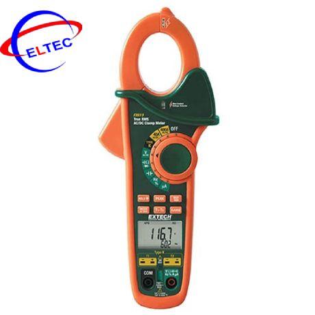Ampe kìm Extech EX613 (400A,TRUE RMS, đo nhiệt độ kiểu K, dò điện, AC/DC)