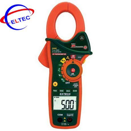 Ampe kìm Extech EX820 (1000A,True RMS, AC, đo nhiệt độ kiểu K, đo nhiệt độ hồng ngoại)