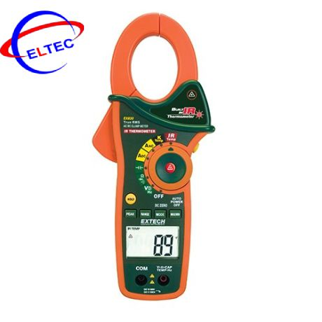 Ampe kìm Extech EX830 (1000A,đo nhiệt độ, AC)