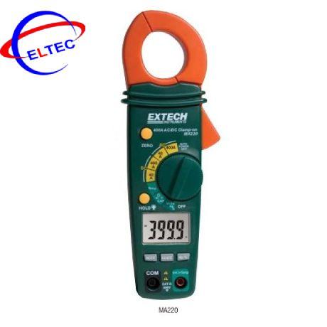 Ampekìm Extech MA1500 (1500A, True RMS, dò điện, đo nhiệt độ kiểu K, AC/DC)