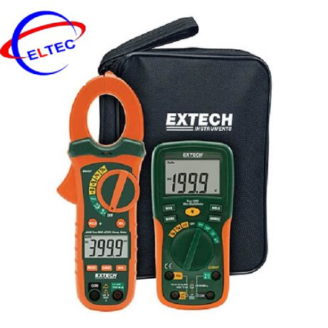 Bộ Kít kiểm tra điện Extech ETK35 (Ampe Kìm AC/DC 400A, đồng hồ vạn năng)