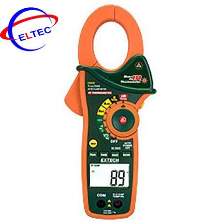 Ampe kìm Extech EX840 (1000A, True RMS, Tích hợp đo nhiệt độ hồng ngoại, K, AC/DC)