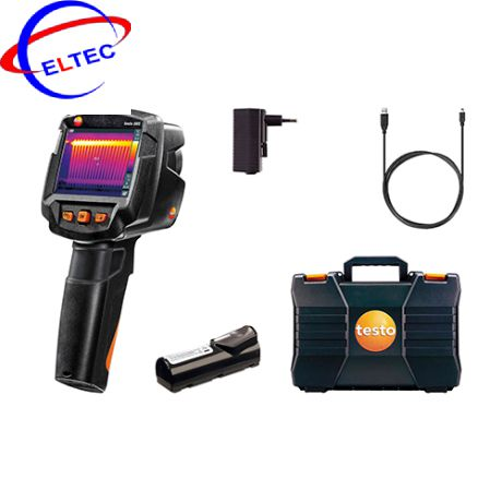 Camera nhiệt Testo 865 (0560 8650, 280 °C, 160x120pixels)
