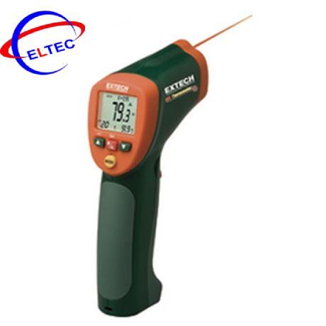 Máy đo nhiệt độ bằng hồng ngoại và kiểu K với đầu kẹp EXTECH 42515 (800 độ C)