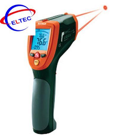 Máy đo nhiệt độ bằng hồng ngoại EXTECH 42570 (-50 đến 2200°C, que đo kiểu K, kết nối máy tính USB)