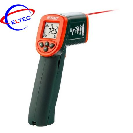 Máy đo nhiệt độ hồng ngoại (-50 – 600°C, que đo kiểu K) Extech IR267