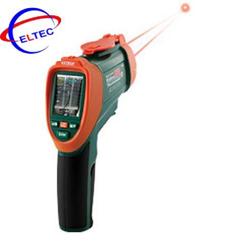 Máy đo nhiệt độ bằng hồng ngoại EXTECH VIR50 (0-2200 độ C, có gắn camera, que đo kiểu K)