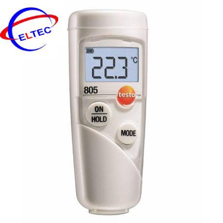 Máy đo nhiệt độ hồng ngoại mini Testo 805 (0560 8051) (-25 ~ +250 °C)