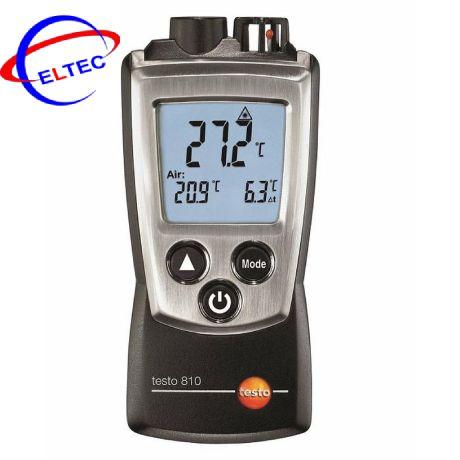 Máy đo nhiệt độ hồng ngoại bỏ túi Testo 810 (0560 0810,-30 ~ +300 °C)