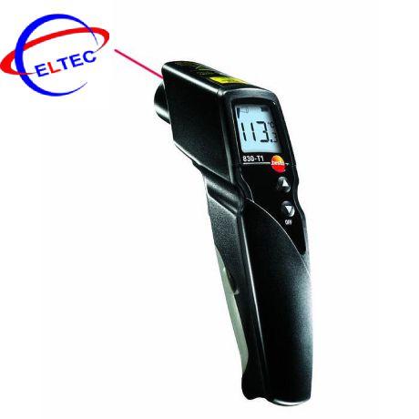 Máy đo nhiệt độ hồng ngoại Testo 830-T1 (0560 8311, -30 ~ +400 °C, 10:1)